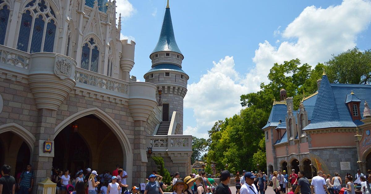 Cinderella Castle Fantasyland