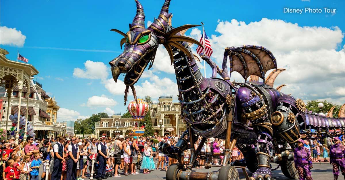 Maleficent Parade