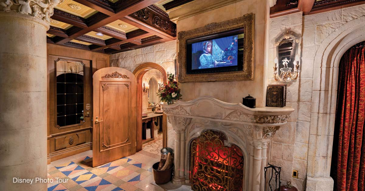 Walt S Suite In Cinderella Castle At Disney World Was Built As A Personal Apartment For When He Visited The Magic Kingdom