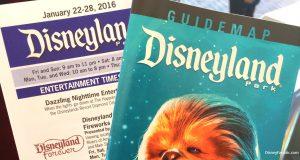Disneyland Brochures