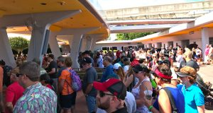 Lines At Epcot