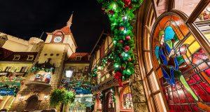 Christmas Germany Epcot
