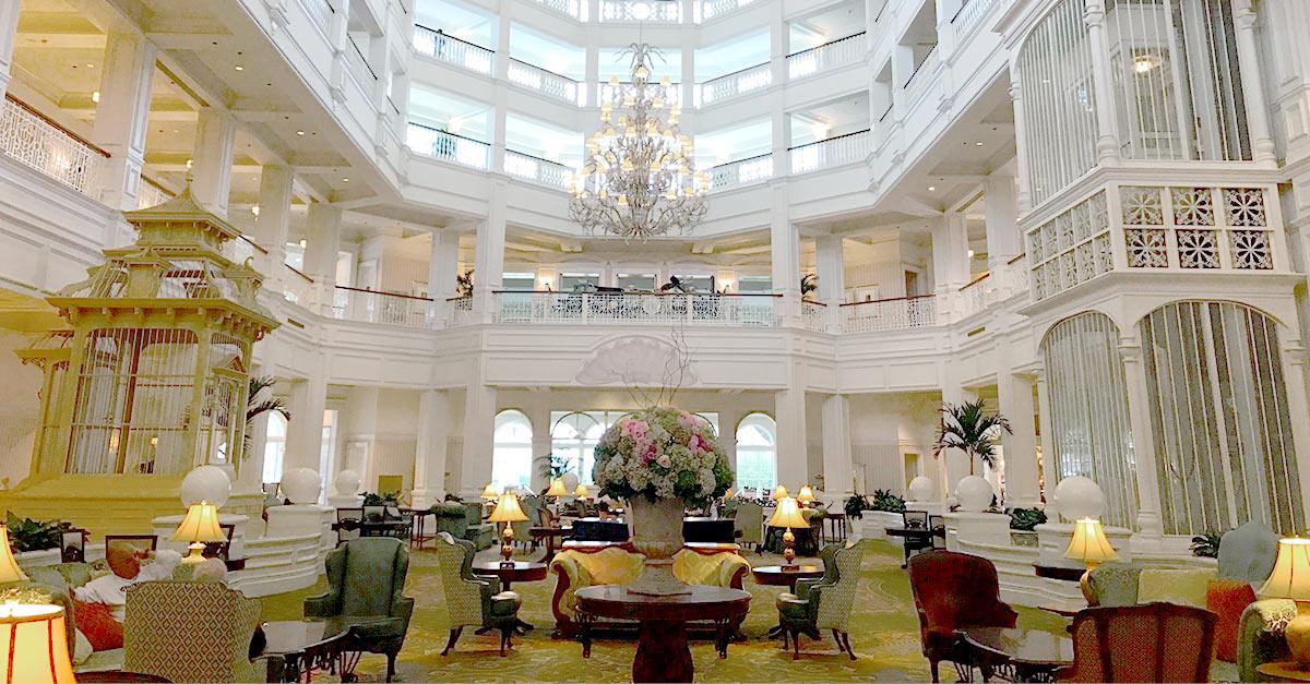 Grand Floridian Room Service Menu